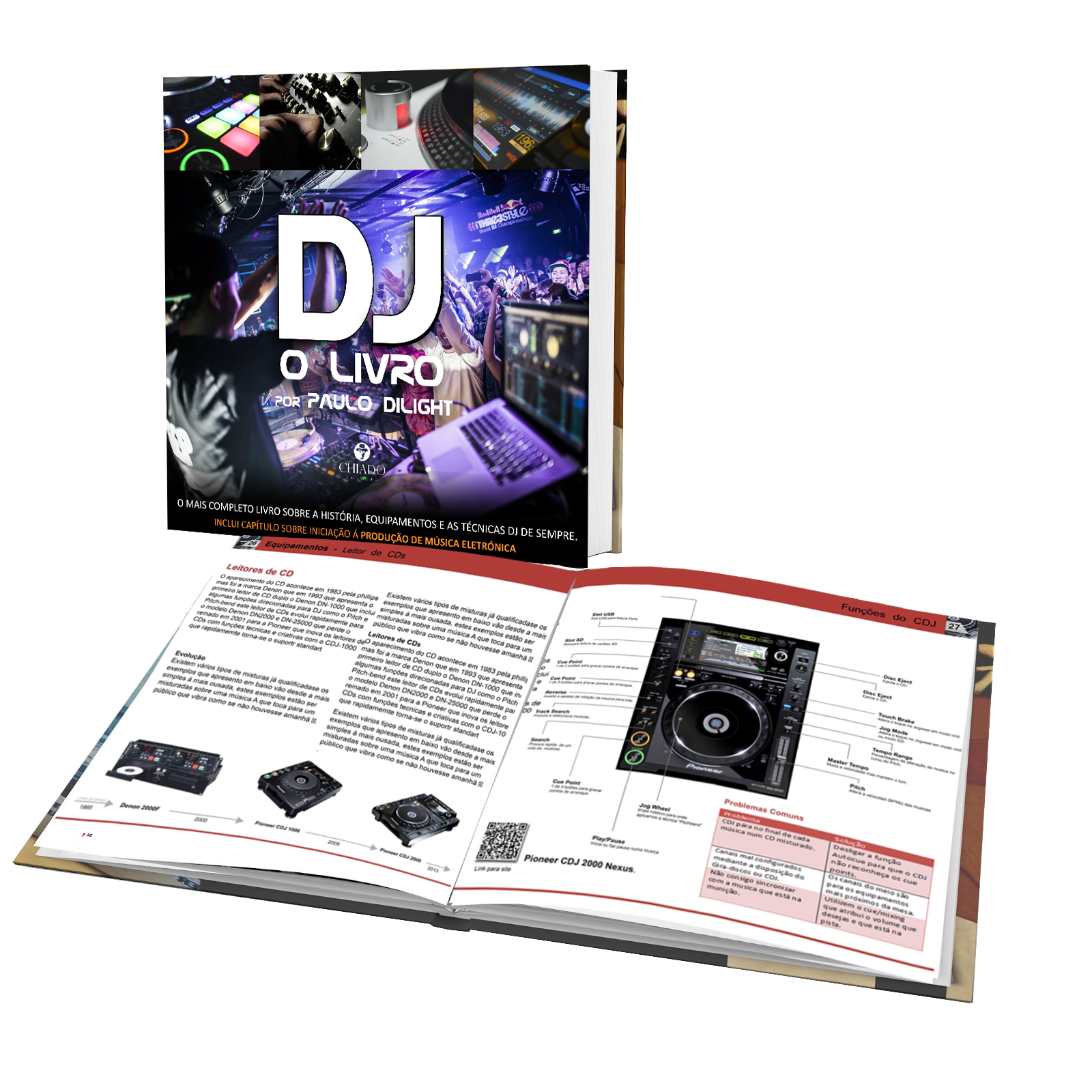 DJ O LIVRO